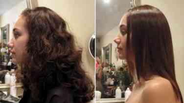Kıvırcık Saçlarda Saç Düzleştiricisi Kullanımı
