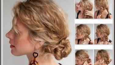 Okulda Kullanmak İçin Kıvırcık Saç Modelleri