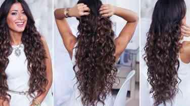 Kıvırcık Saçlar İçin Günlük Saç Modelleri