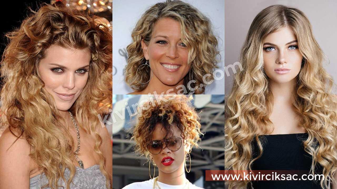 Kıvırcık Saç Ombre Önerileri