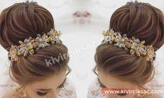 Düğün Saç Modelleri Topuz