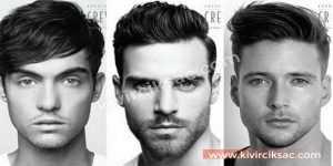 Uzun Yüzlü Erkek Saç Modelleri