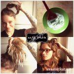 Evde Ombre Saç Yapımı