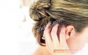 Saç Diplerinde Kaşıntı ve Dökülme
