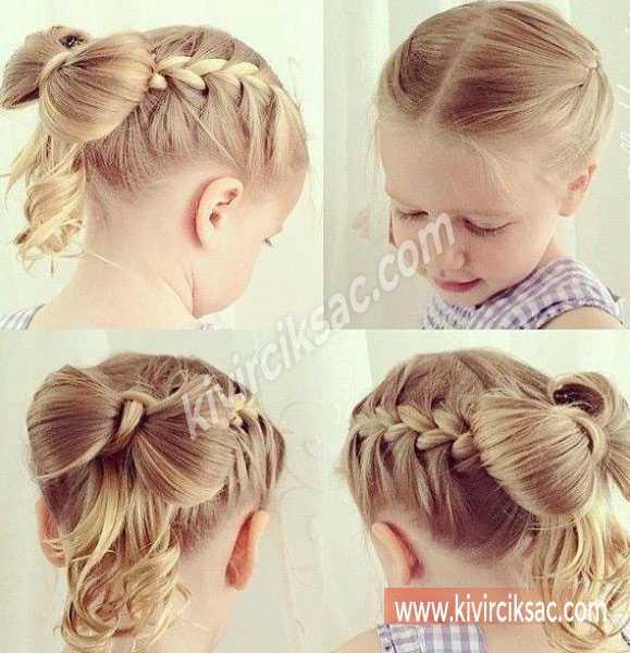 Bebekler için Saç Modeli