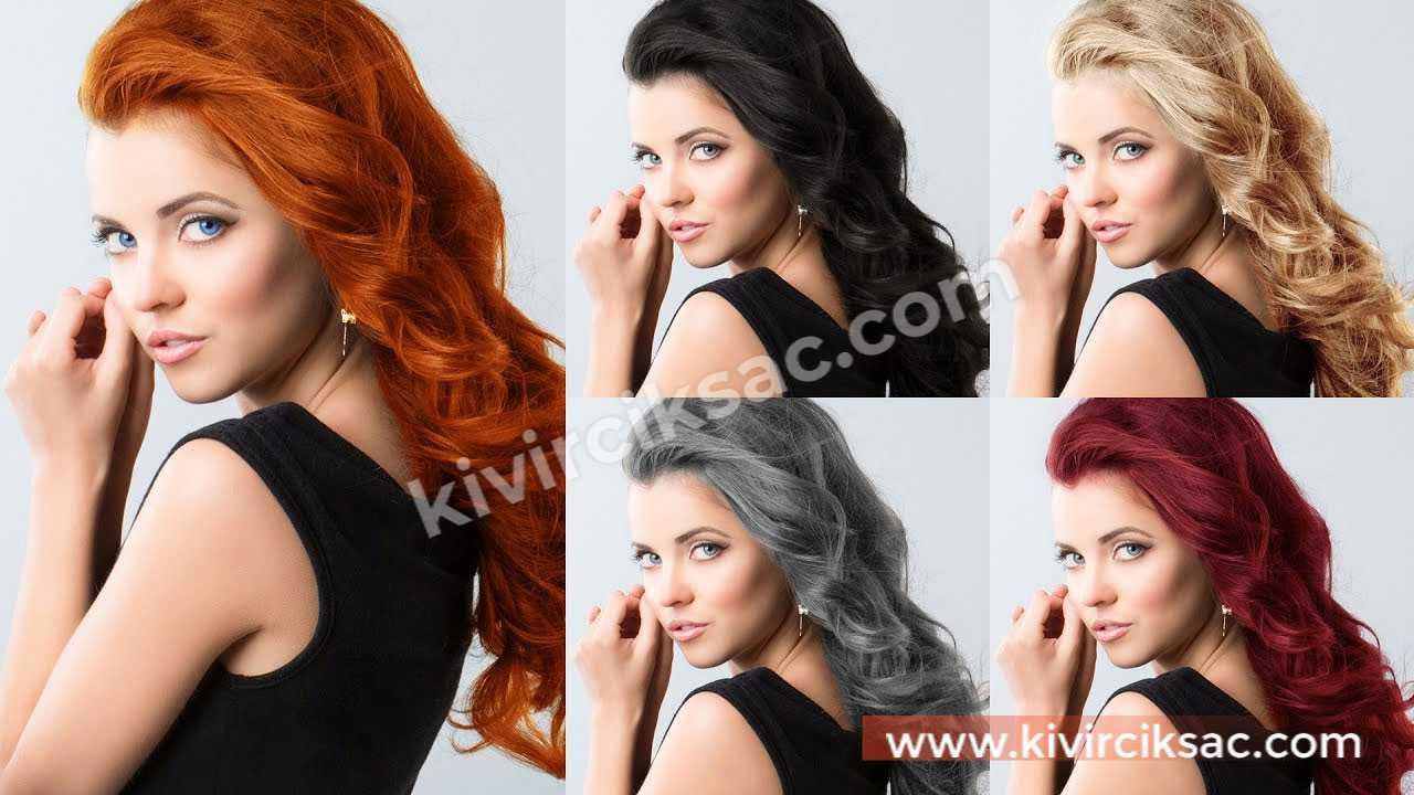 Esmer Kadına Hangi Saç Rengi Yakışır?