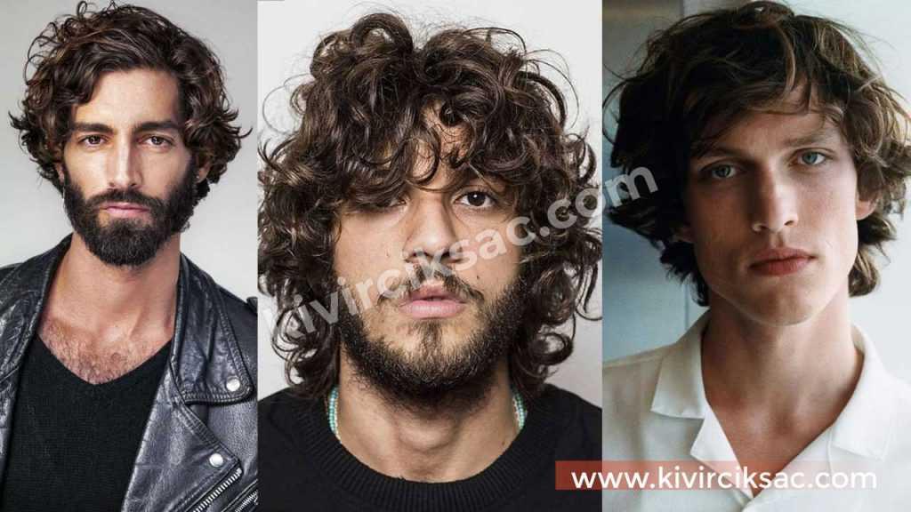 Erkekler için Kıvırcık Saç Modelleri