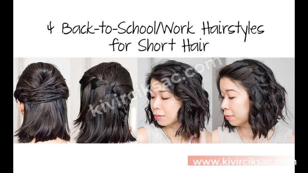 Okula Giderken Saç Modelleri