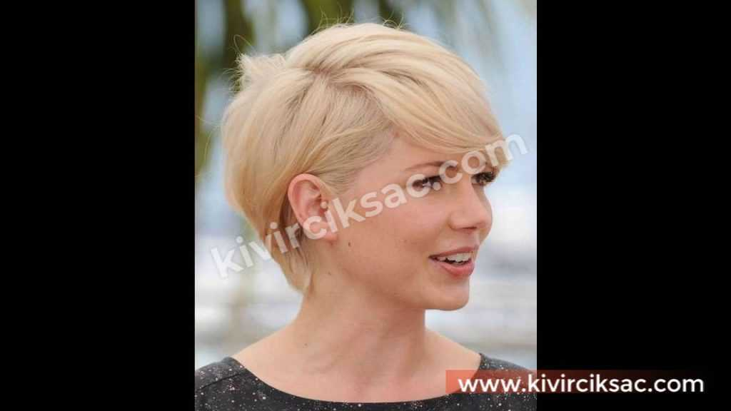 Yüz Şekline Göre Bayan Kısa Saç Modelleri