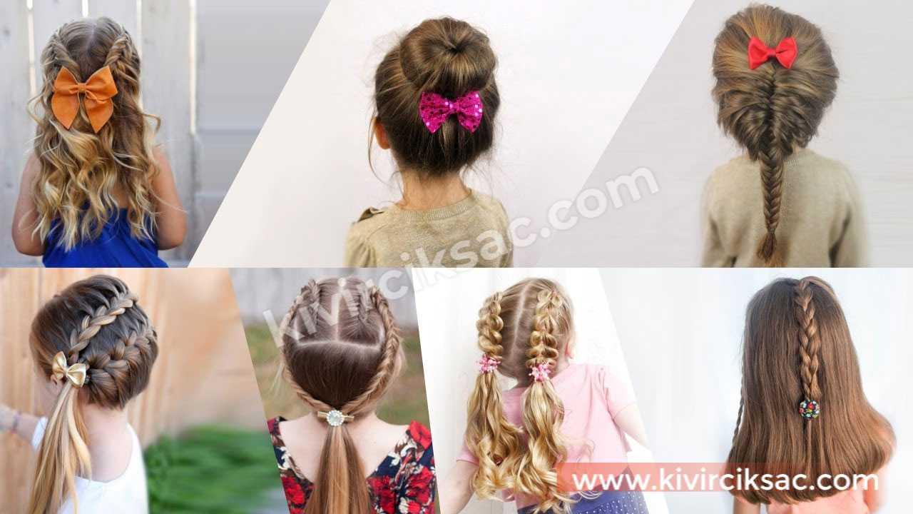 Çocuk Saç Örgü Modelleri ve Yapılışları