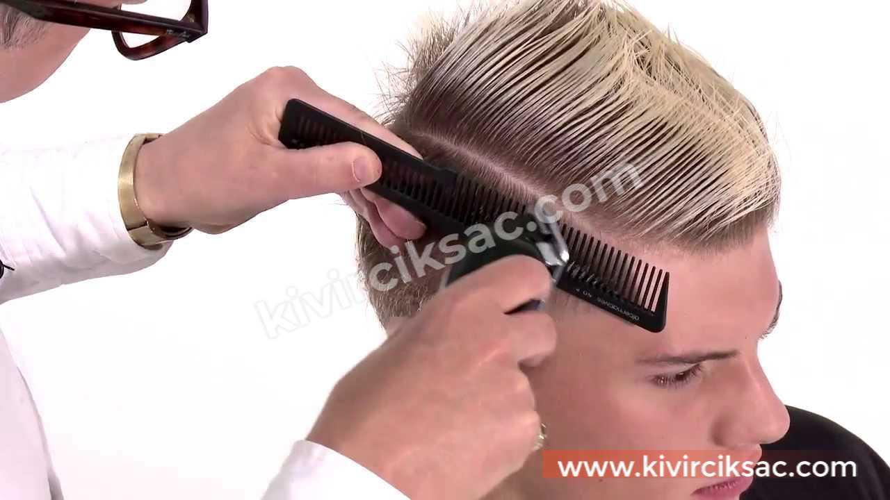 Erkek Saç Modelleri Yanlar Kısa Üstler Uzun