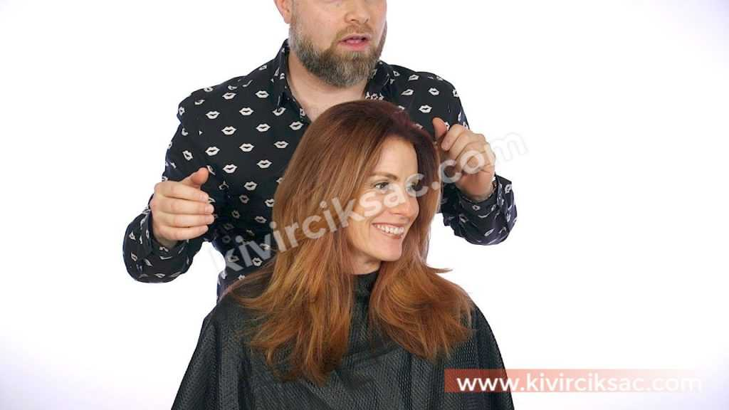 Omuzda Saç Kesim Modelleri