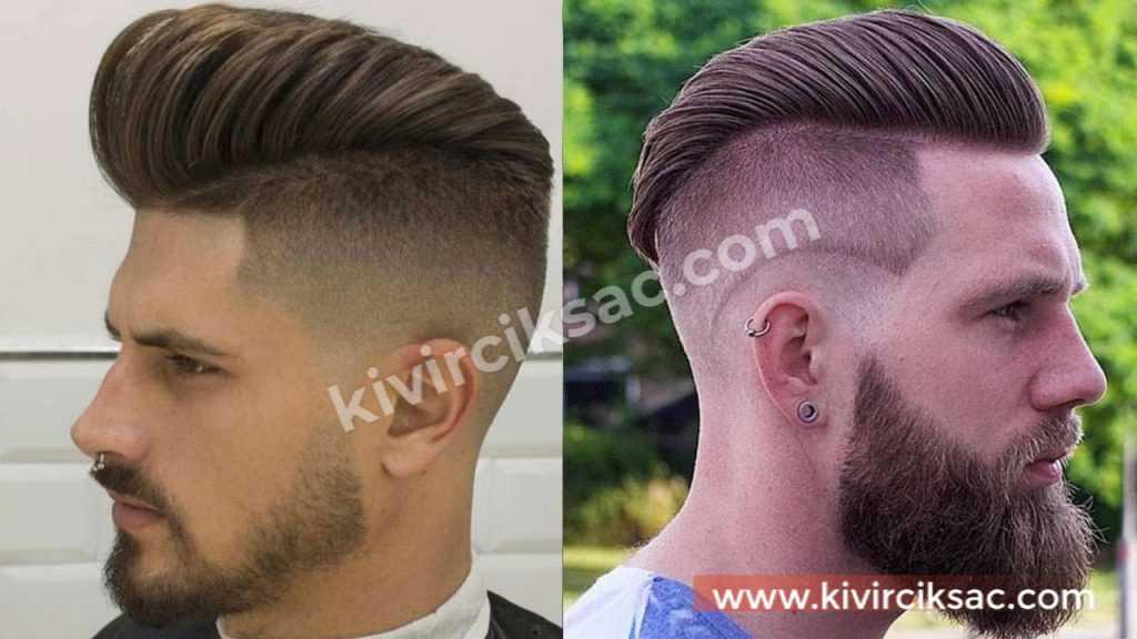 İnce Telli Erkek Saç Modelleri