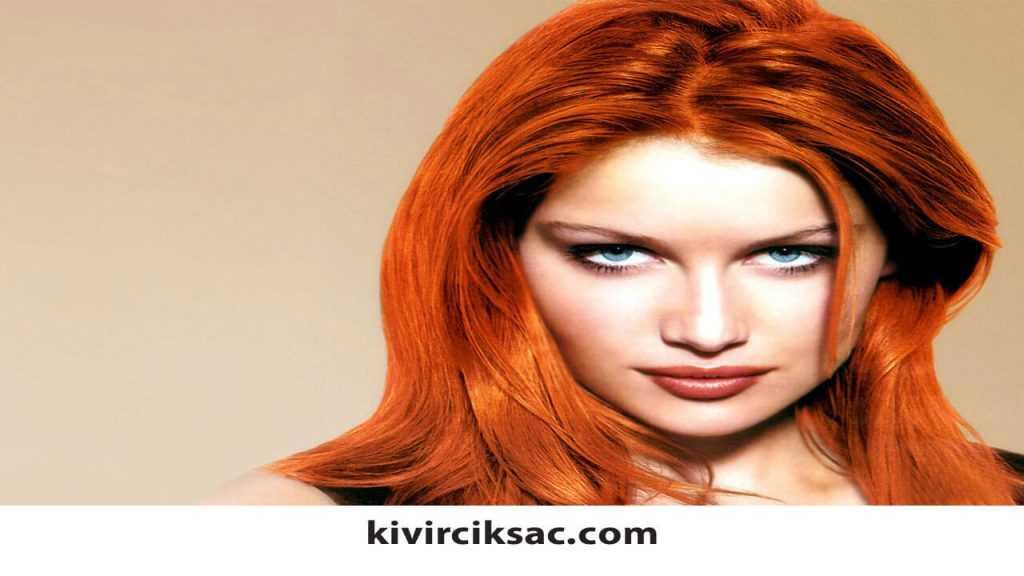Esmerlere Giden Saç Renkleri
