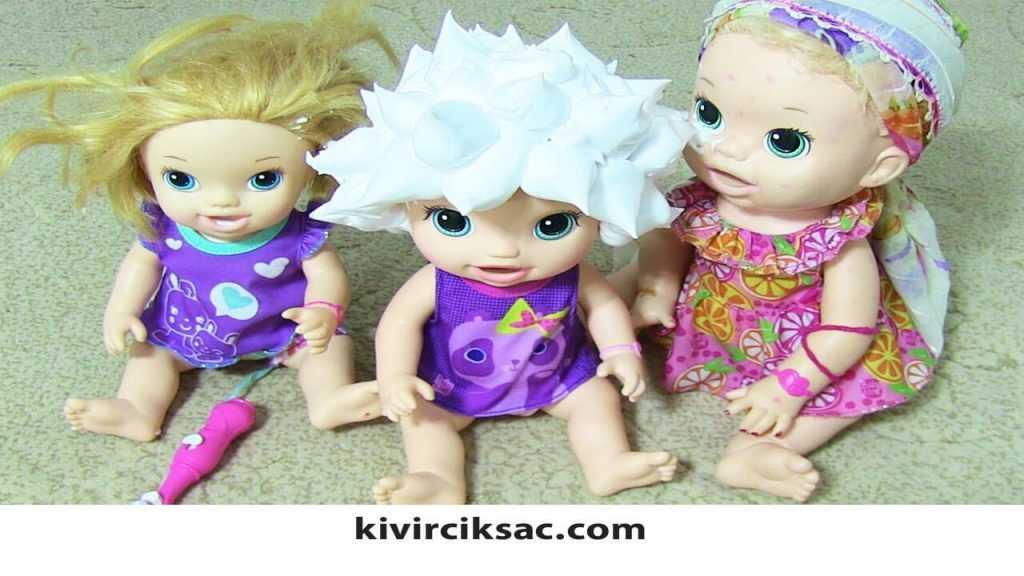 Baby Alive Saç Tasarım